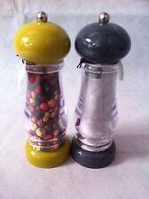 lot de 2 moulin a poivre et a sel en duo