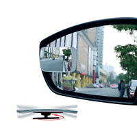 1x Universal Auto Car 360° Wide Angle Convex Rear Side View Blind Spot Mirro PG