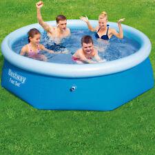 Bestway Fast Set™ Pool - 244x66 cm Schwimmbecken Schwimmbad Pool Planschbecken