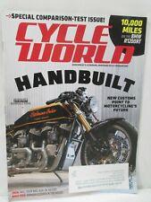 Cycle World Magazine August 2015 BMW R1200RT Yamaha YZ250FX