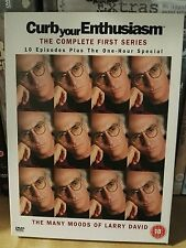 Curb Your Enthusiasm - Series 1 - Complete (DVD, 2004, 3-Disc Set)