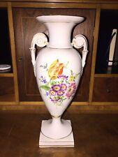 große Meissen Henkelvase Blumenbukett Top Zustand