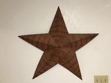 Antique Rusty Metal Star Wall Decoration Western Home Decor Texas Vintage Barn