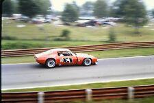 Vintage Original 35mm Slide 1974 Sports Car Race Camaro #13