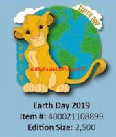Disney Earth Day 2019 The Lion King Simba Pin LE 3000