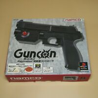 Namco Guncon Light Gun Con Controller Official Sony PlayStation NPC-103 Black