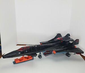 Vintage 1986 GI Joe Cobra Night Raven 99% Complete No Pilot Great Shape