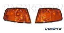 NEW For 1990~1991 JDM HONDA CRX CR-X Amber CORNER LIGHTS Lamps