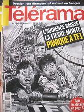 2454 AUDIENCE TV COUV. DI MARCO ROUEN IRCAM WESTERN AU GUILVINEC TELERAMA 1997