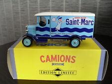 corgi camions d'antan, publicité, camionnette de livraison morris 1931 saint-mar