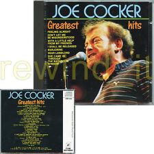 "JOE COCKER ""GREATEST HITS"" RARE CD ITALY RICORDI CDOR"
