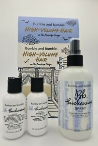 Bumble & Bumble High-Volume Hair at the Brooklyn Fringe Gift Set Thickening New