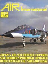 Air International V29 N2 Sea Harrier Japan USAF McDonnell F-101 Vodoo Macchi