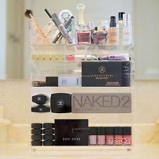 [GLAMQB] Clear Acrylic Cosmetics & Make-up Vanity Organizer - GlamQB Pro