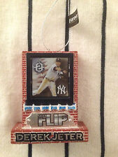 Rare Final Season Derek Jeter Christmas Ornament Ny New York Yankees The Flip