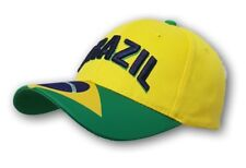 Brazil Hat/Cap Adjustable Strap One Size Fits All Curved Brim