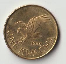 1996 Malawi, Kwacha, Brass plated steel, KM:28