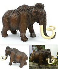 20cm Woolly Mammoth Ice Age Model Realistic Wild Animal Figure Solid Plastic Toy