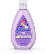Johnson's Bedtime Baby Lotion with NaturalCalm Essences 1.7 oz 3pk