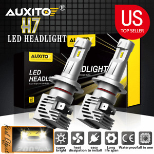 AUXITO LED Headlight Bulbs Conversion Kit -H7, LED 24000lm 6500K High Low Beam