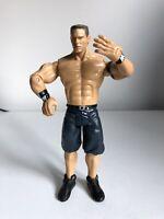 WWE WWF John Cena 2003 Wrestling Figure by Jakks Pacific Jean Shorts