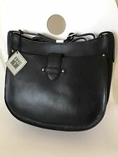 NWT FRYE CASEY LARGE CROSSBODY BAG PURSE $378 IN black