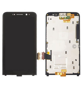 For Blackberry Z30 Verizon 3G LCD Display Touch Screen Digitizer Assembly +Frame