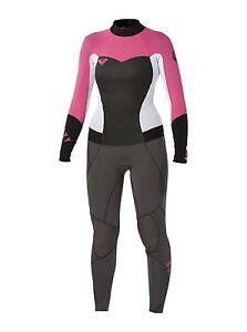 Roxy Syncro GBS 3/2 Back Zip Fullsuit, women's 2, 10, 12 - wetsuit new NWT