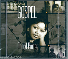Cheryl Porter. Gospel (2000) CD NUOVO SIG Swing low sweet chariot. Amazing Grace