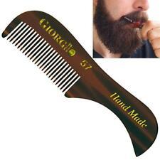 "Giorgio G57 2 3/4"" Small Handmade Men Beard & Mustache Pocket Comb"