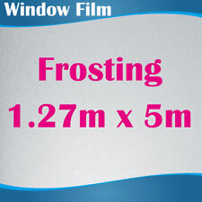 127CM x 5M Privacy Frosted Frost Frosting Window Film Sticker 0.18mm Thick
