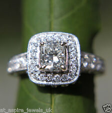 2.00 CT PRINCESS CUT DIAMOND SOLITAIRE ENGAGEMENT RING SOLID 14 CARAT GOLD
