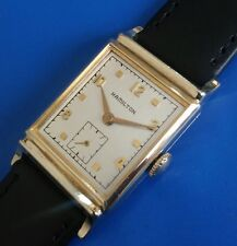 Exquisite Vintage1949 Mans Hamilton *Franklin* Hand Winding Silver Dial SERVICED