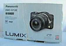 Panasonic DMC-GF3K Lumix 12.1 Megapixel Camera with14-42mm Lens Kit