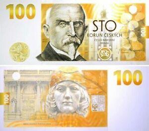 100 Korun 2019 / prefix RC04 / Czech Republic (Alois Rasin)
