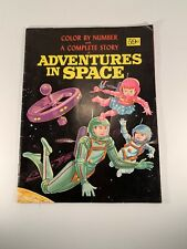 Adventures in Space Color by Number Story Book Vintage Astronaut