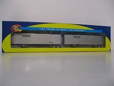 Athearn Trailers Vermont Railway 40' Smooth Side Z-Van Trailers #73362
