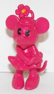 Dark Pink Minnie Mouse 2 inch Figurine DMMF605