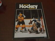 1987 Vancouver Canucks program vs TORONTO MAPLE LEAFS vol.17 no.32 Excellent*