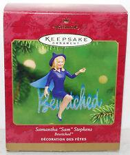2001 Hallmark Bewitched Samantha Stephens Elizabeth Montgomery Witch Ornament