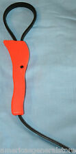 """rubber STRAP WRENCH fits from 1"""" to 5"""" diam. easily removes stubborn lids"""