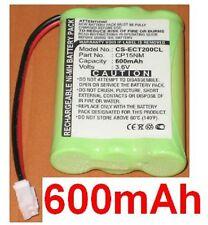 Batterie 600mAh Pour Ericsson DT200, DT288, DT290, DT292