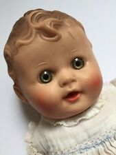 Sun Rubber Doll Girl Toy Tod L Tot Squeaker 10 Inch Vintage 1950s