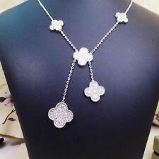 Van Cleef & Arpels Magic Alhambra 5 incos 18k white Gold Diamond necklace