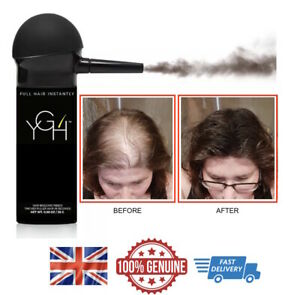 YGH - Hair Building Fibres & Pump Spray Applicator Keratin Hair Loss Fibers