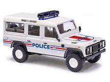 """Busch Land Rover Defender GSG 9 Bundespolizei 110 Station Wagon /""""Rough/"""" 1:87"""