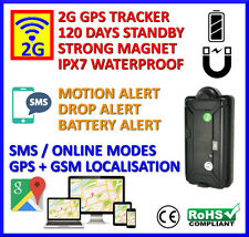Portable Magnetic GPS Tracker - Long Battery Life and Security Functions