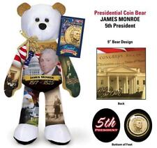 James Monroe Dollar Coin bear #5 in series by Limited Treasures