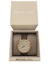 Michael Kors MK2878 Women's Pyper Three Hand Stainless Steel Watch
