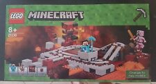 LEGO MINECRAFT 21130 STEVE ZOMBIE PIGMAN NEUF BOITE RAILS DU NETHER